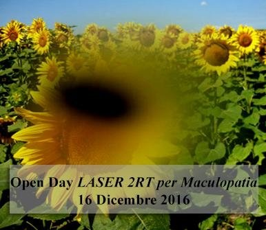 Open Day Laser 2RT per Maculopatia