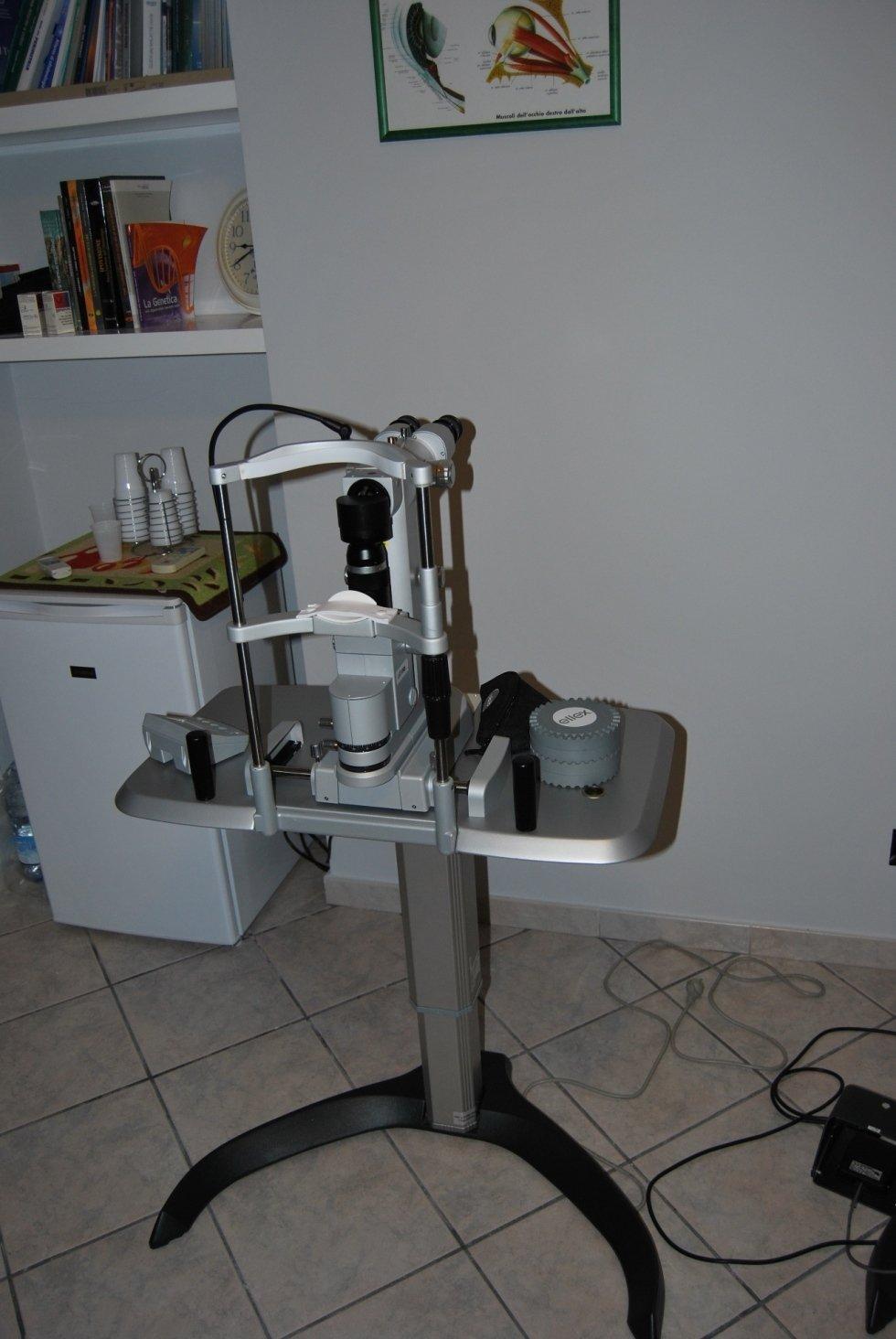 strumenti diagnostici per vista