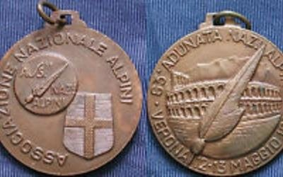 Medaglie commemorative alpini