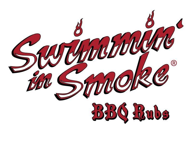 Swimming in Smoke logo