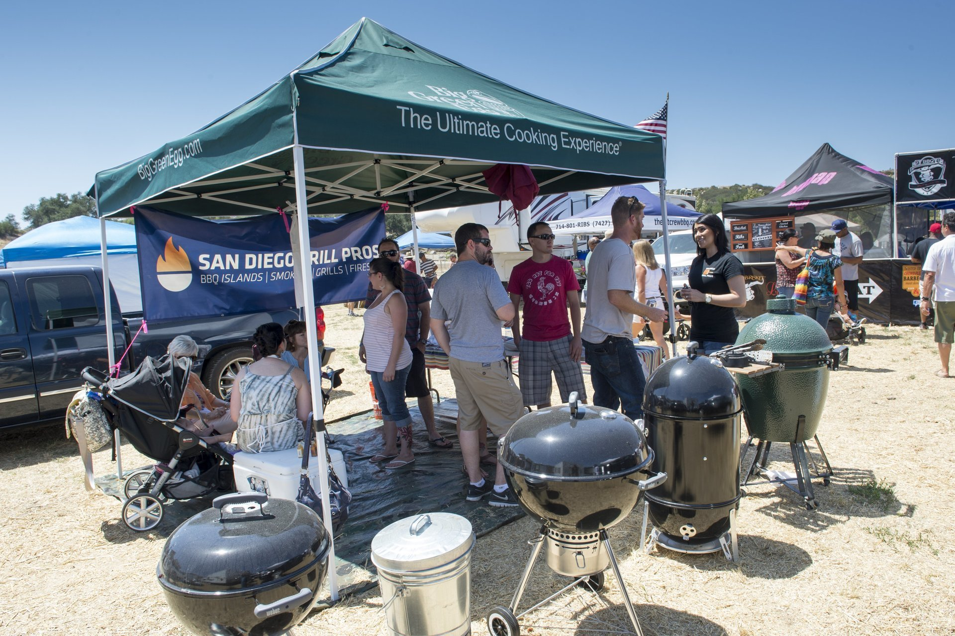 SD Grill Pros event tent