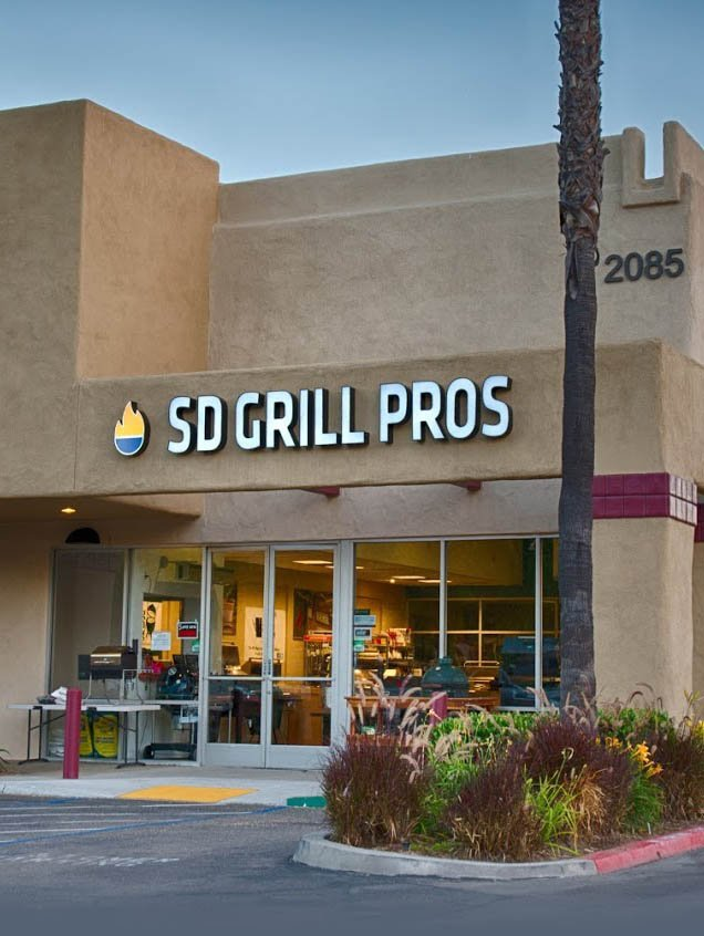 SD Grill Pros store front San Marcos