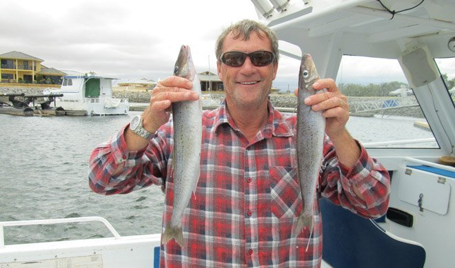 Mark Rawles King George whiting tumby bay