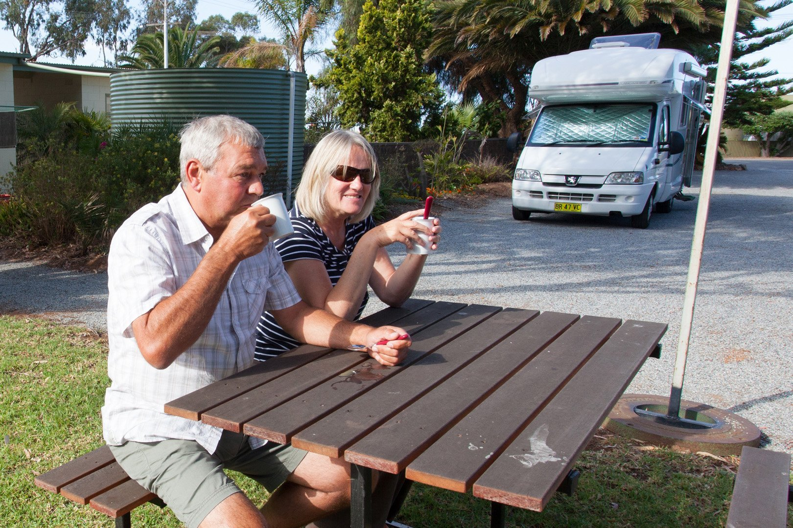 RV parking Tumby Bay
