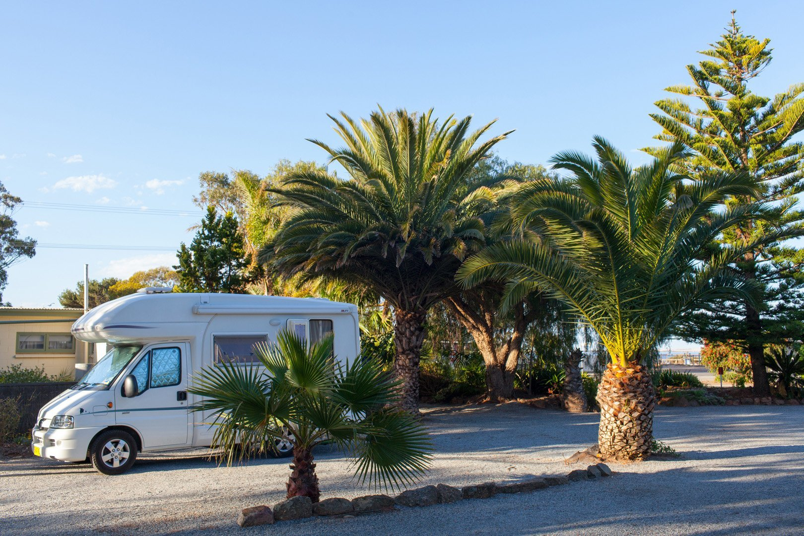RV Friendly parking Tumby Bay