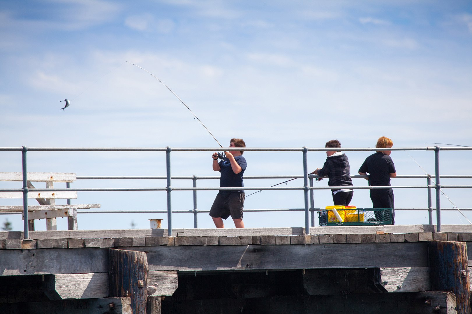 fishing in Tumby Bay