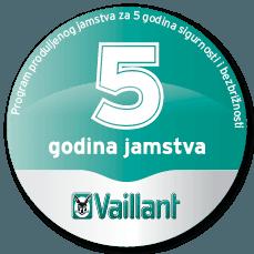 Vaillant produljeno jamstvo - kondenzacija