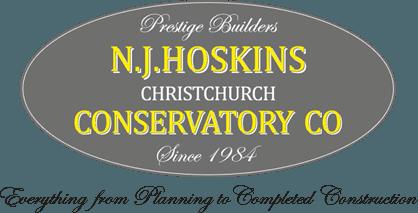 N.J. Hoskins Christchurch Conservatory Co Logo