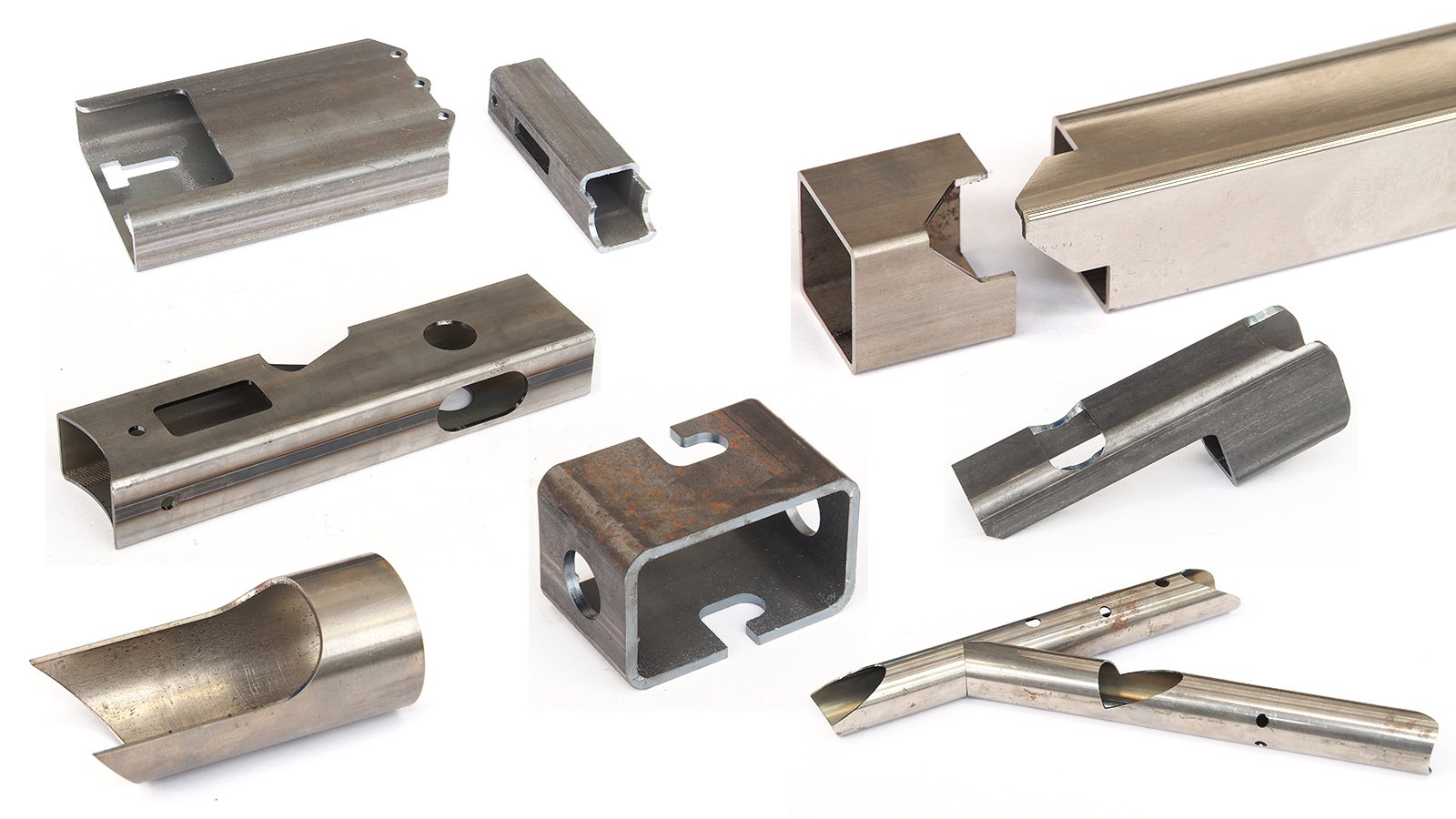 Esempi di semilavorati laser in metallo