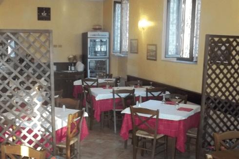 Il ristorante è il locale ideale dove mangiare durante la pausa pranzo.
