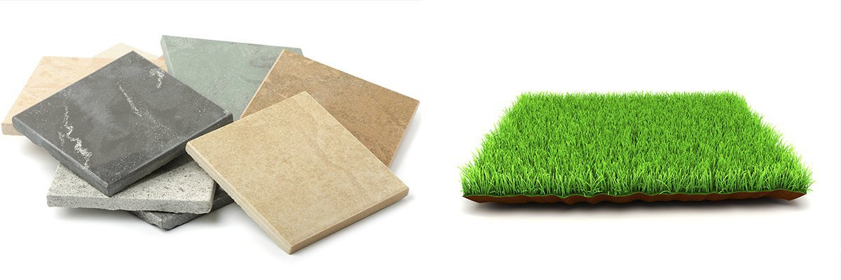 preferred suppliers synthetic grass and tiles