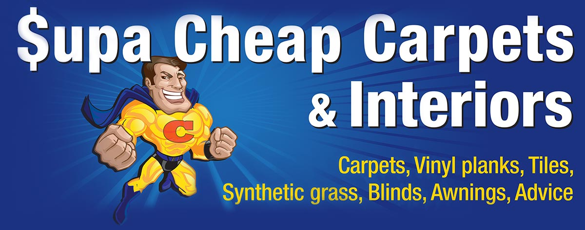 supa cheap carpets and interiors business logo