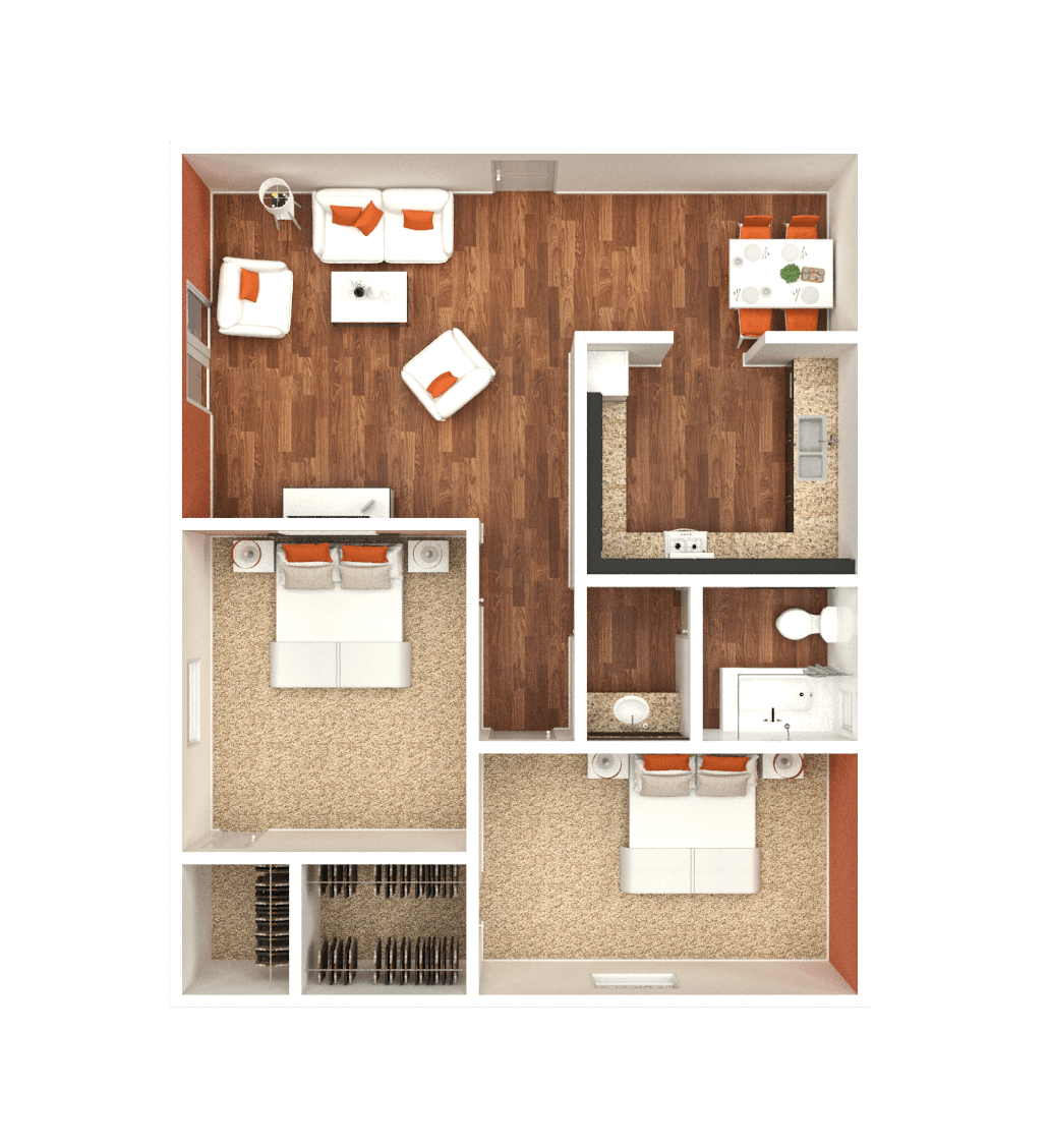 Country Park Apartments: Park On Country Club - Apartment Home
