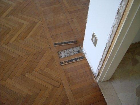 manutenzione pavimento legno