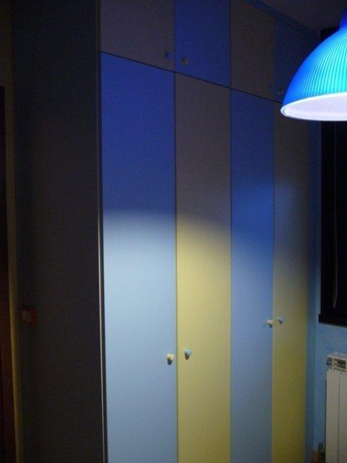 armadio bicolor