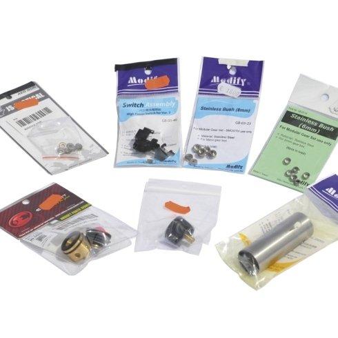 Cilindri-cutoff-antireversal,selector plate, spessori, boccole cuscinettate