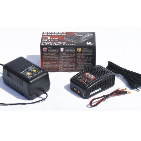 Carica batteria SwissArms Lipo-Life