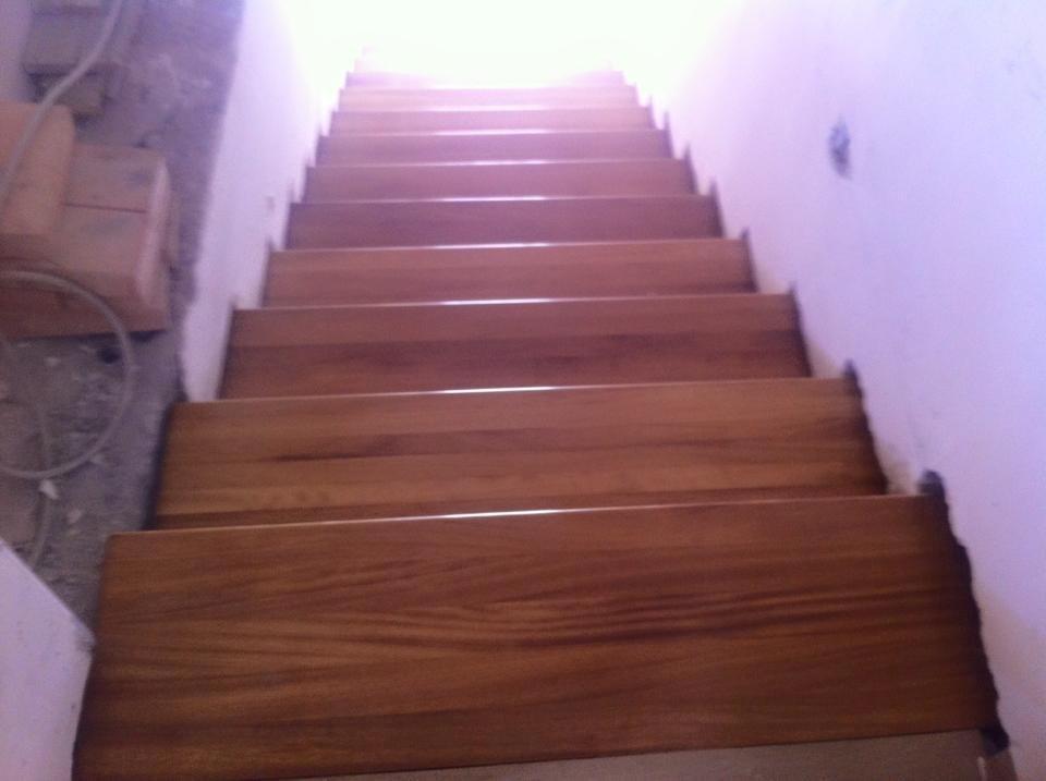 Realizzazione scale in legno