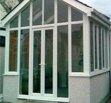 Conservatory steelwork