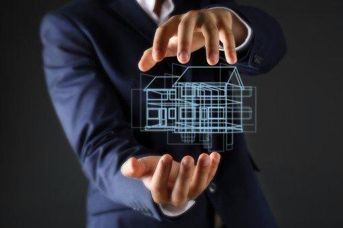 concetto di casa da creare