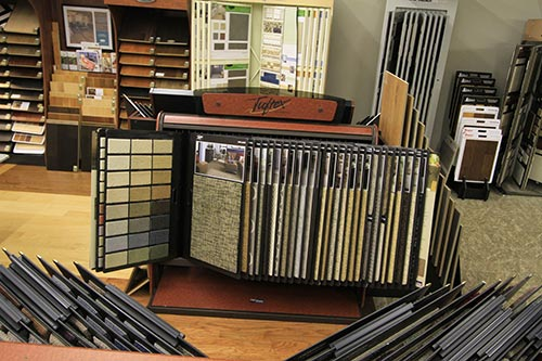 Wide range of flooring option available atteh showroom in Chesterfield, MO