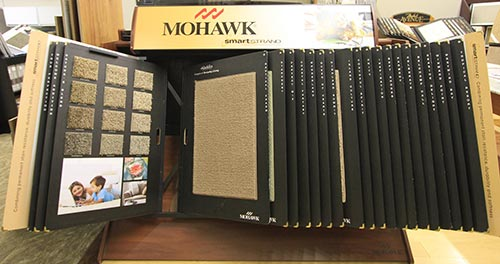 Mohawk brand flooring material in Wide range of options at the showroom for flooring in Chesterfield, MO