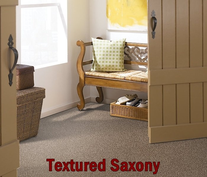 Textured carpet installation in Wide range of options at the showroom for flooring in Chesterfield, MO