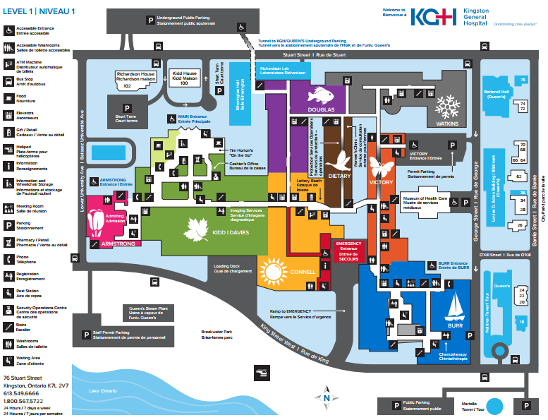 Kingston Hospital Map How It Works
