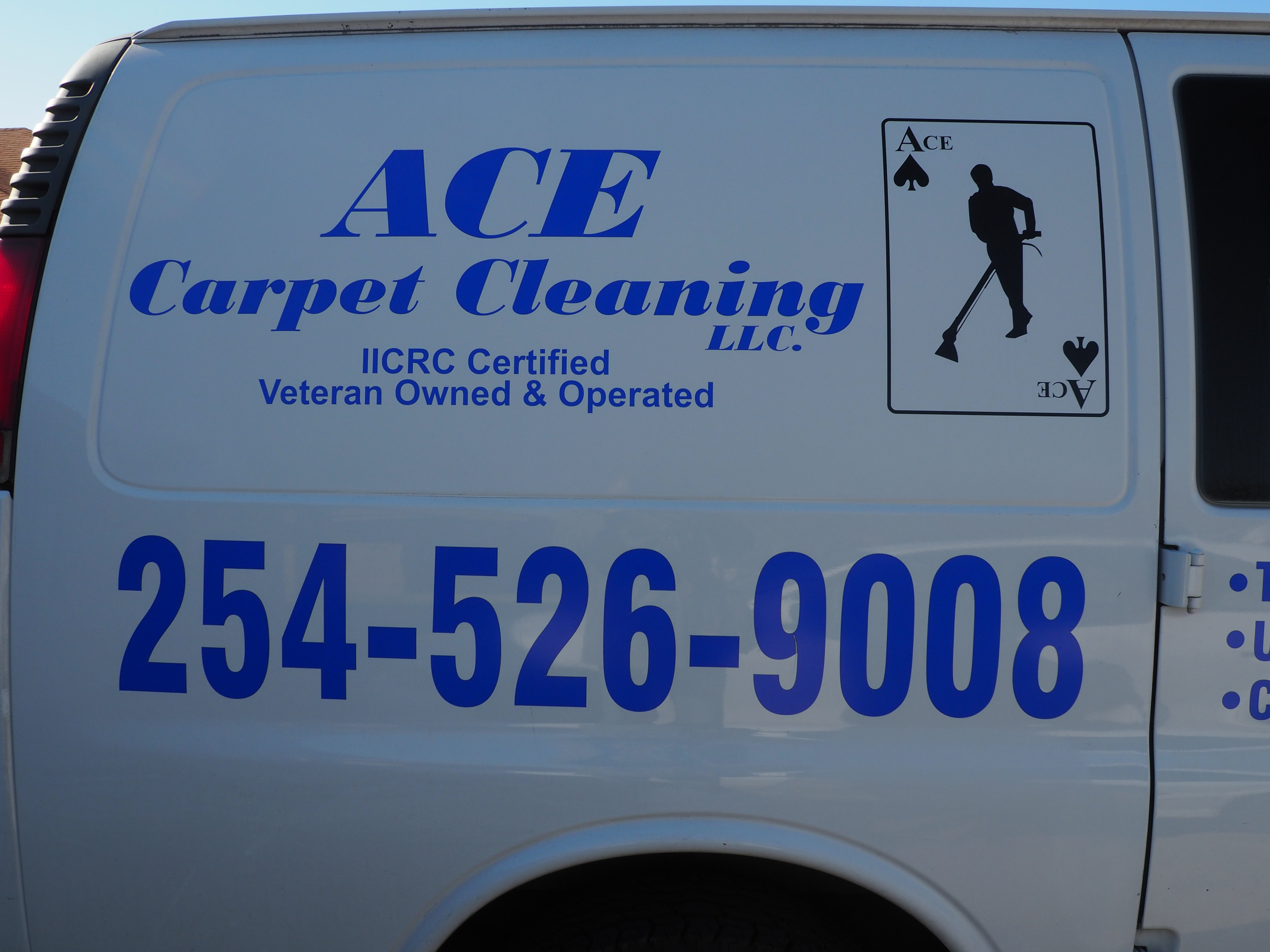 Ace Carpet Cleaning Gallery Image Killeen Texas Fort Hood Van Call Now