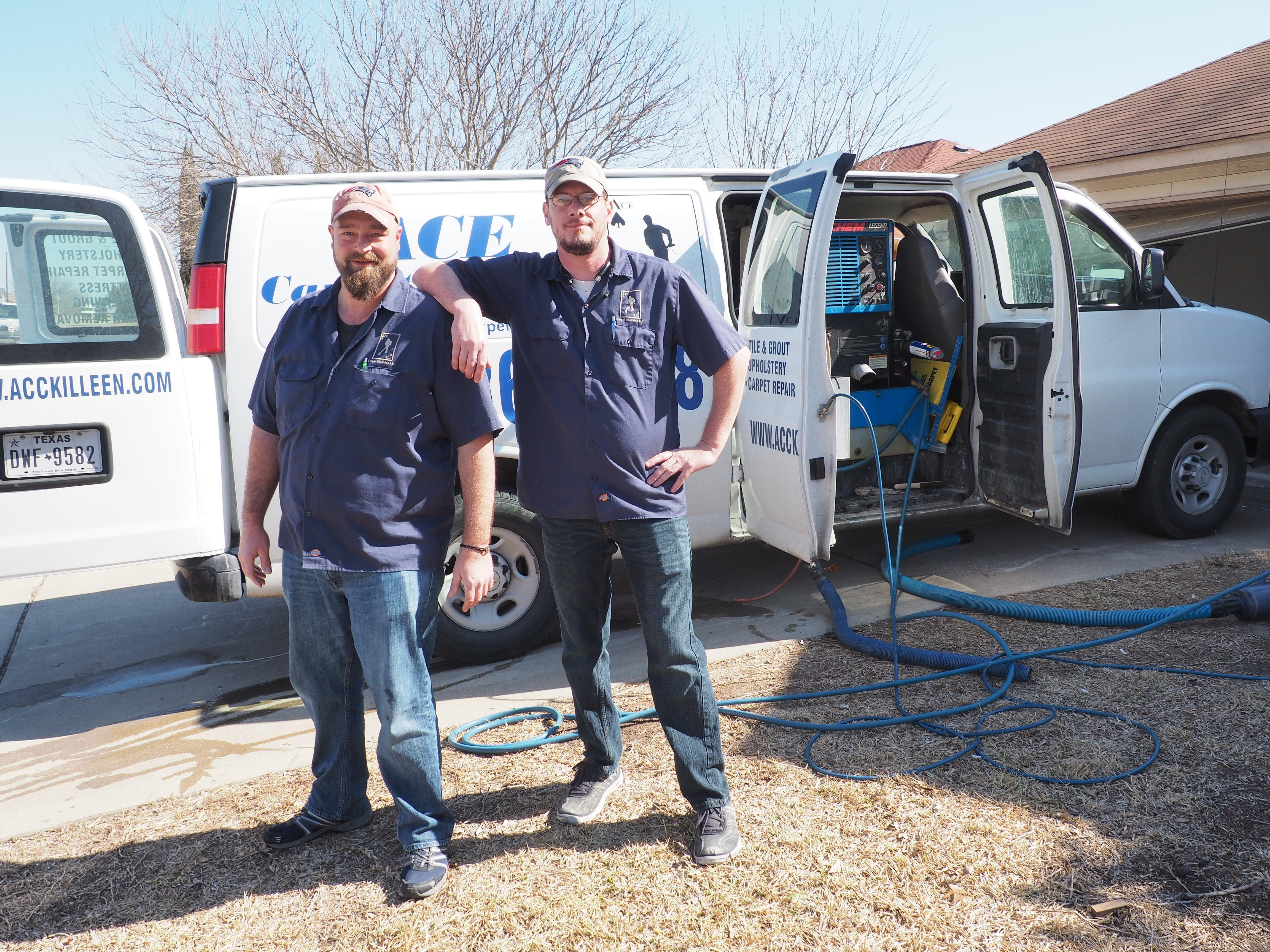 Ace Carpet Cleaning Gallery Image Killeen Texas Fort Hood Van