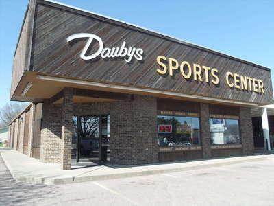 Exterior of Dauby's Sports Center