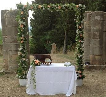 Allestimenti floreali per eventi e cerimonie a Poggibonsi