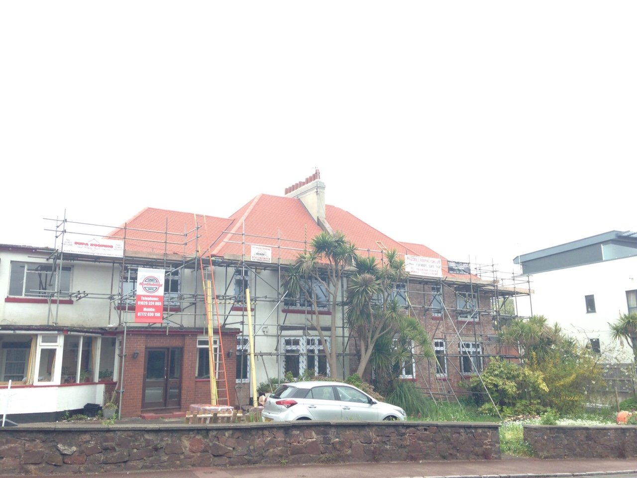 view of a red tiled roof by Affordable Roofing Ltd in Devon