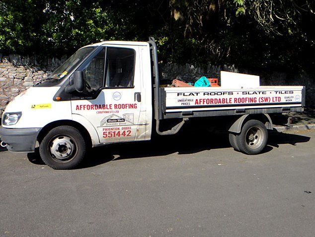 Affordable Roofing Ltd company van