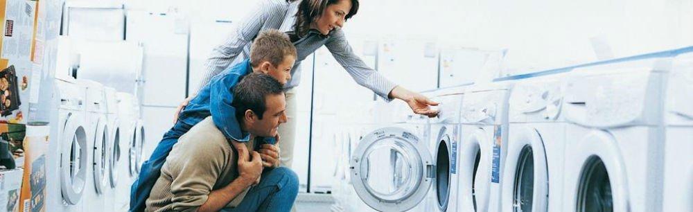 lavatrici in esposizione