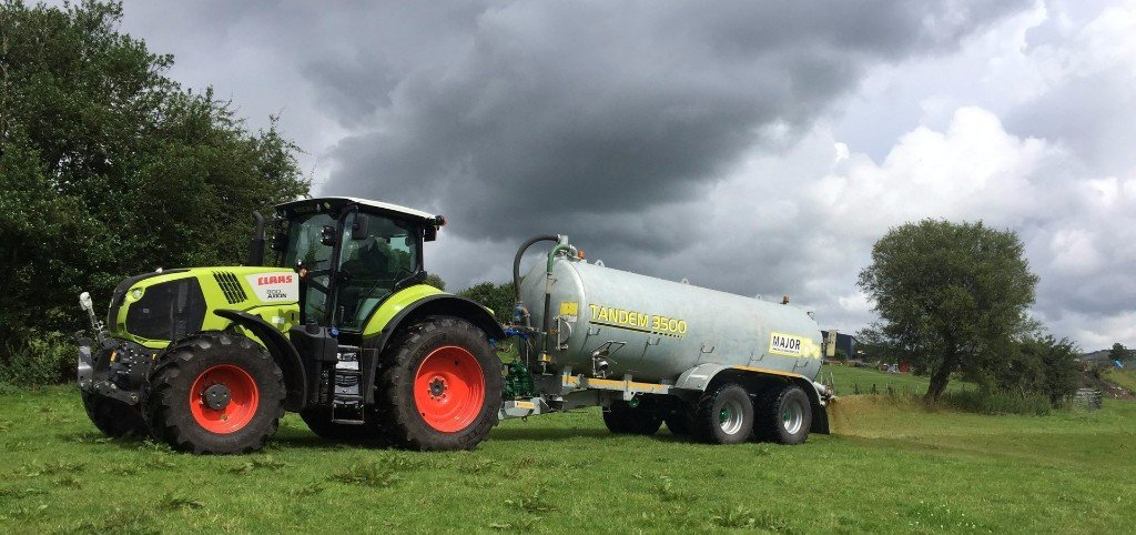 slurry tanker for hire