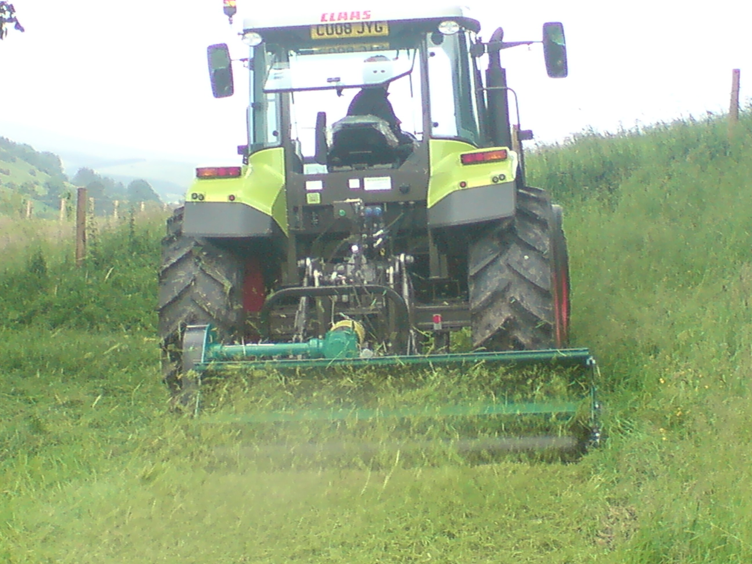 grass managing equipment