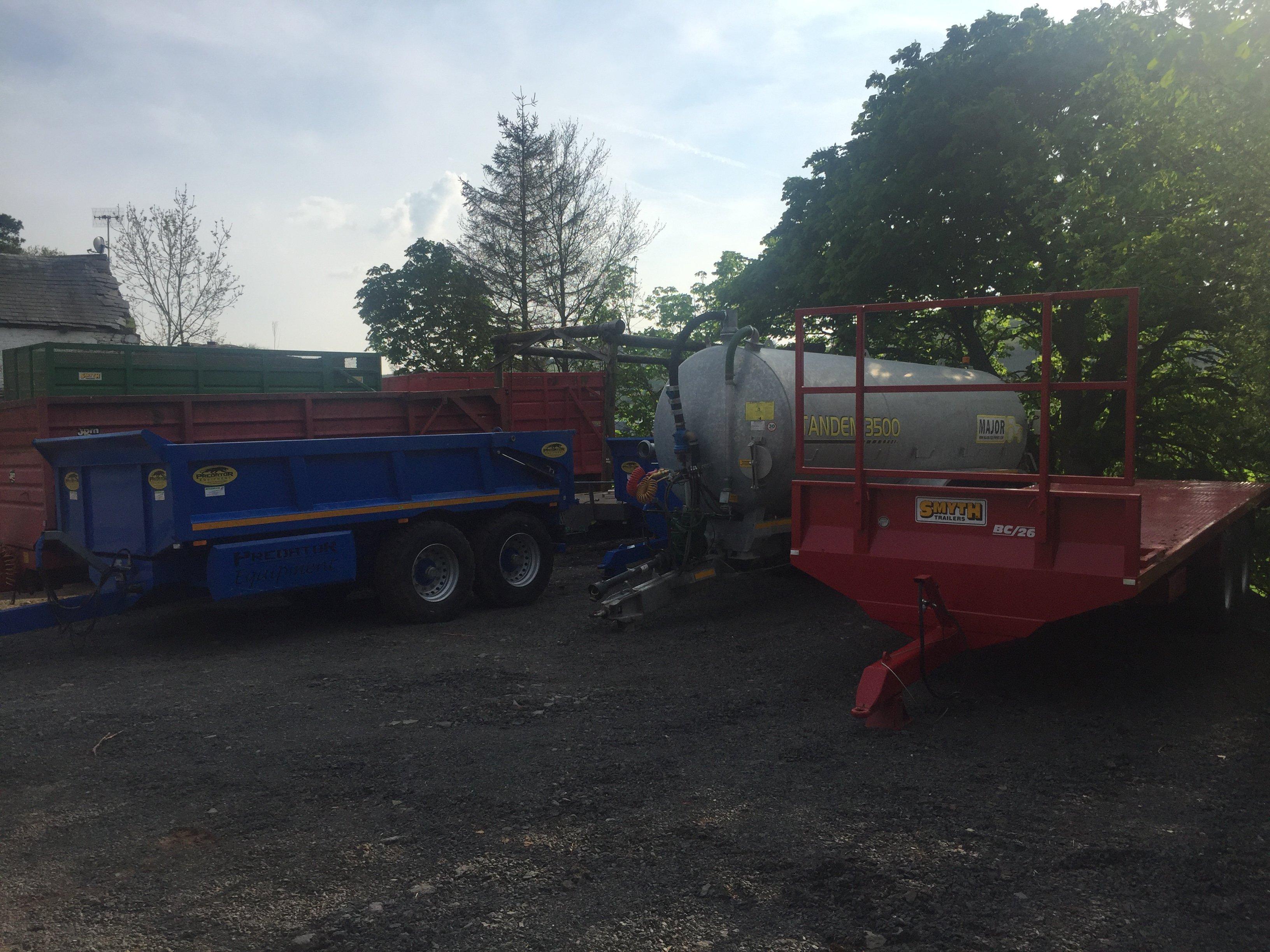 trailer for equipment haul