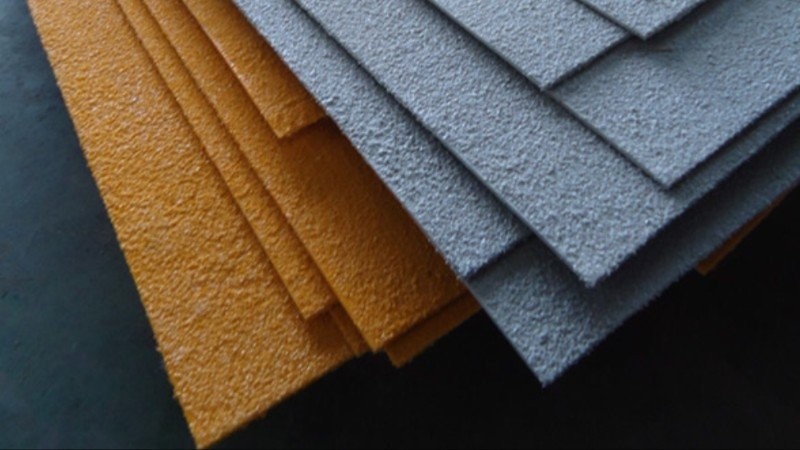Anti-slip sheets and stair treads