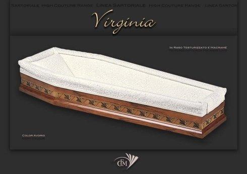 imbottiture cofano funebre Virginia