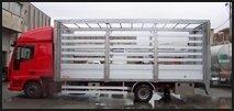 sponde per furgoni