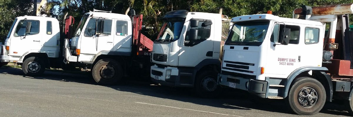 Some of our skip bins available for service in Deception Bay and North Lakes.