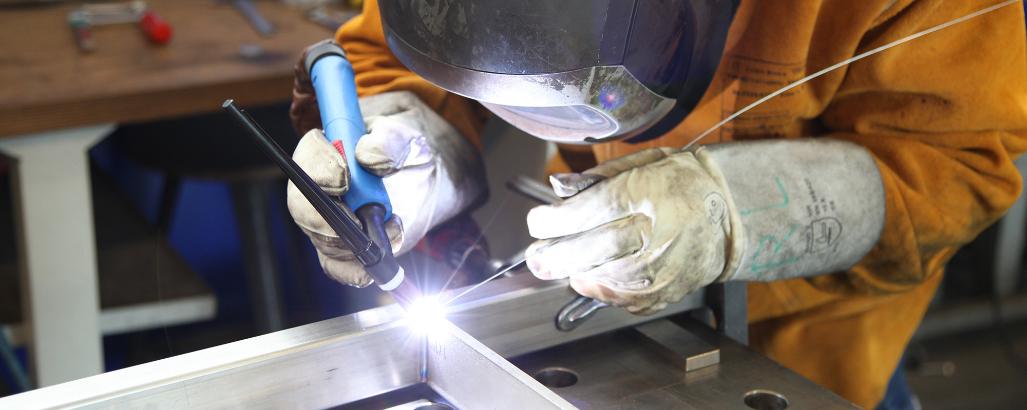 Metal fabrication being carried out in Marianna, FL