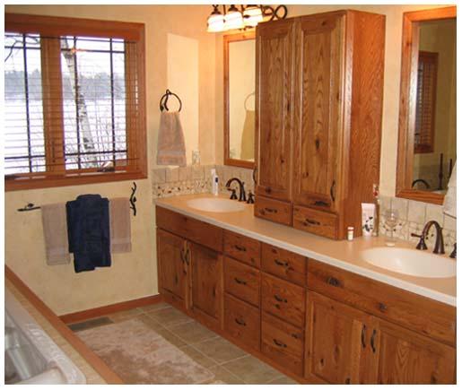 Home interior – bath area