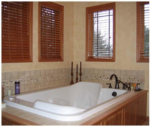Home interior – bathtub