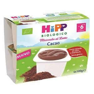 Hipp merenda al latte cacao a Mangone