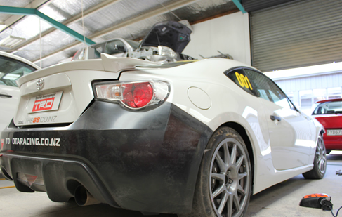 Car serviced at our shop in Hamilton, NZ