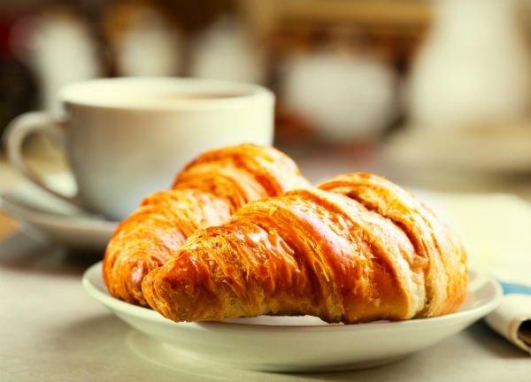 una croissant