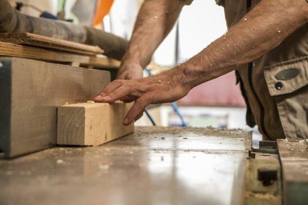 utilizzo del legno