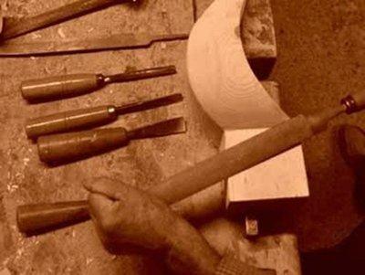 lavorazione antica del legno
